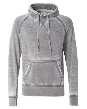Vintage Zen Fleece Hooded Pullover Sweatshirt