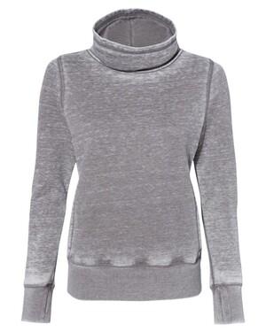 Vintage Zen Fleece Women's Cowl Neck Sweatshirt