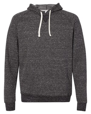 Snow Heather French Terry Pullover Hood Sweatshirt