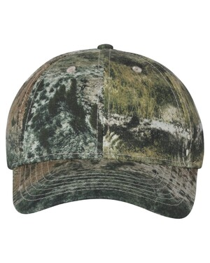 Structured Mid-Profile Camo Hat