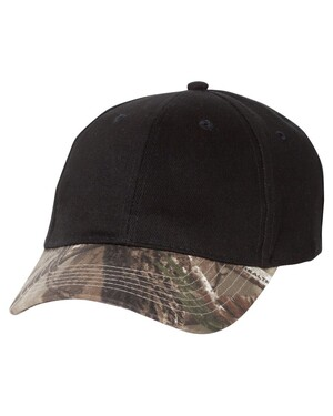 Solid Crown Camo Hat