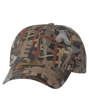 Oilfield Camo Hat