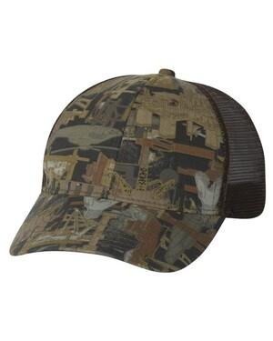 Oilfield Camo Trucker Hat