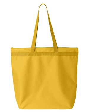 Recycled Zipper Tote