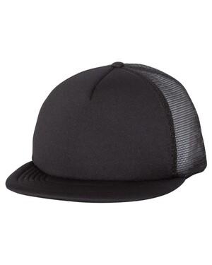 Foam Front Flat-Bill Trucker Hat
