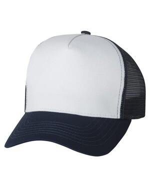 Five Panel PET Mesh Snapback Trucker Hat