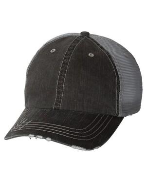 Herringbone Unstructured Trucker Hat
