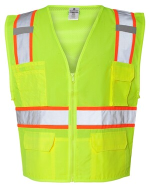 Solid Front Vest with Mesh Back