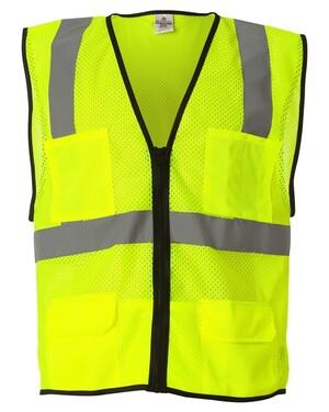 Economy 6-Pocket Mesh Vest