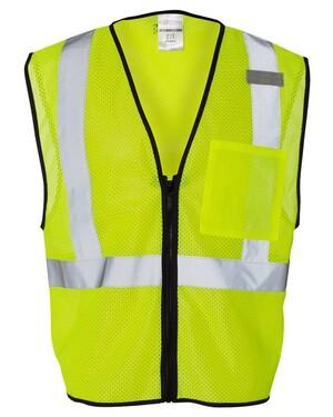 Class 2 Economy Vest with Zipper Front