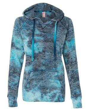 Courtney Burnout V-Notch Sweatshirt