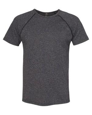 Mock Twist Short Sleeve Raglan T-Shirt