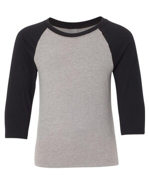 Youth CVC Three-Quarter Sleeve Raglan T-Shirt
