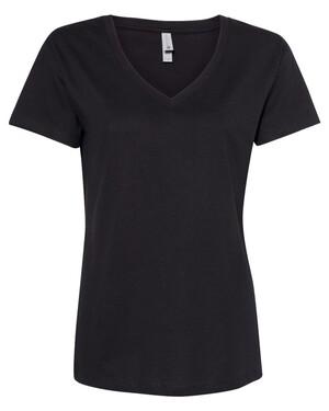Fine Jersey Women's Relaxed V-neck T-Shirt