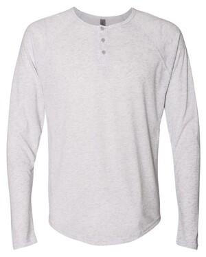 Tri-Blend Long Sleeve Henley