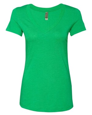 Ladies' Triblend Deep V-Neck T-Shirt