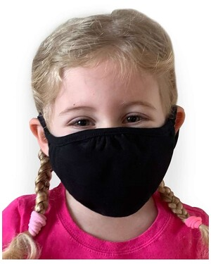 Youth Reusable 2-Ply Face Mask 48-pack