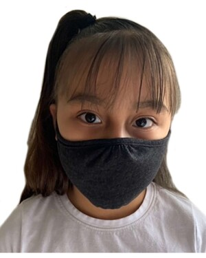Youth 2-Ply Reusable Face Mask 48-pack