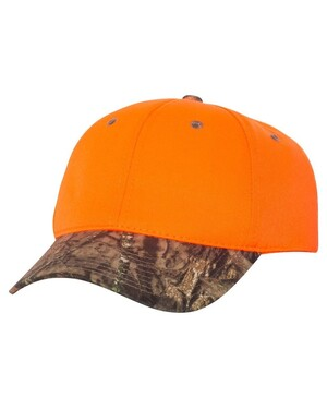Blaze Crown Camo Visor Hat