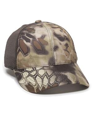 Performance Camo Mesh-Back Hat