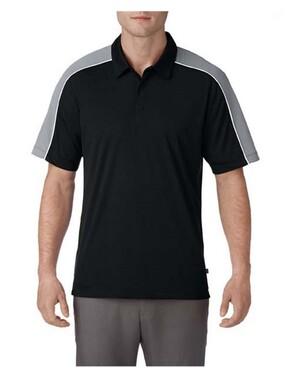 Dynamic Mesh Blocked Polo Shirt