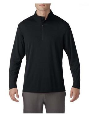 Unisex 100% Polyester Quarter-Zip Pullover