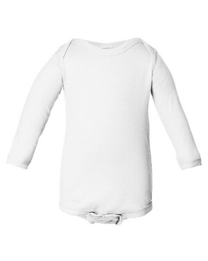 Infant Long Sleeve Lap Shoulder Onesie