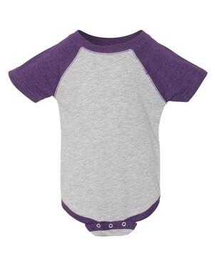 Infant Three-Quarter Sleeve Baseball Onesie