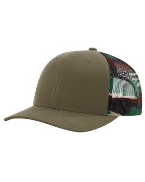 Printed Mesh-Back Trucker Hat