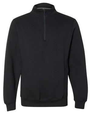 Dri Power Quater-Zip Cadet Collar Sweatshirt
