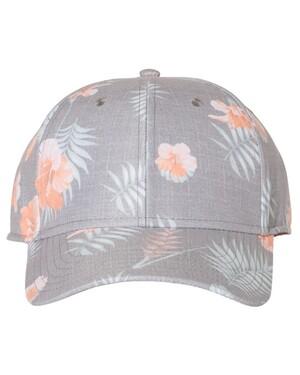 Tropical Print Cap