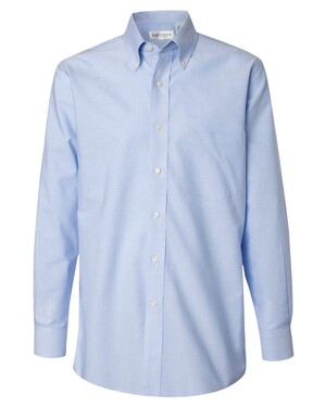 Long Sleeve Pinpoint Oxford