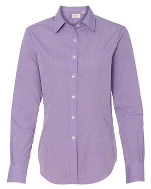 Ladies' Gingham Check Shirt