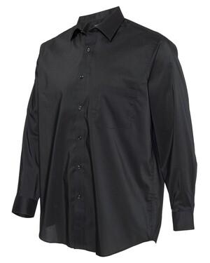 Stretch Spread Collar Shirt