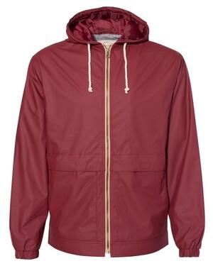 Vintage Hooded Rain Jacket
