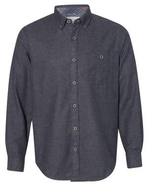 Vintage Brushed Flannel Solid Shirt