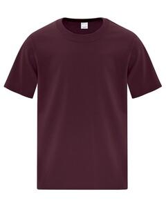 The Authentic T-Shirt Company ATC1000Y Maroon