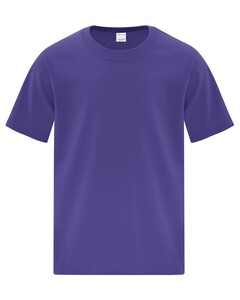 The Authentic T-Shirt Company ATC1000Y Purple