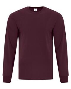 The Authentic T-Shirt Company ATC1015 Maroon