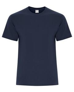The Authentic T-Shirt Company ATC5050 Navy