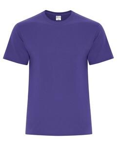 The Authentic T-Shirt Company ATC5050 Purple