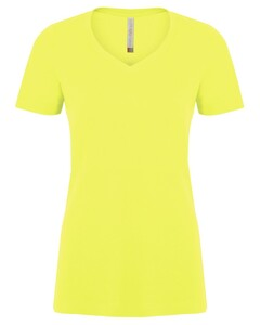 The Authentic T-Shirt Company ATC8001L Yellow