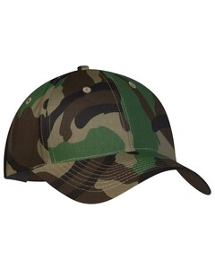The Authentic T-Shirt Company Y130 Camo