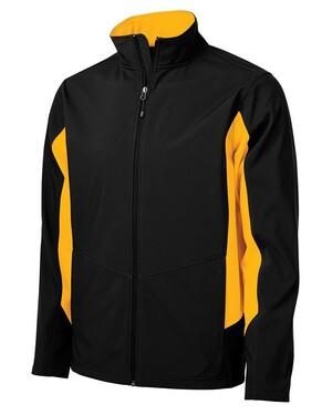 Colour Block Soft Shell Jacket