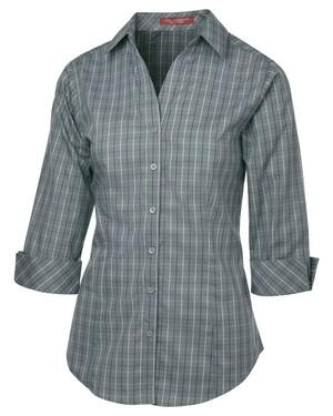 Tattersall Check Woven Ladies' Shirt