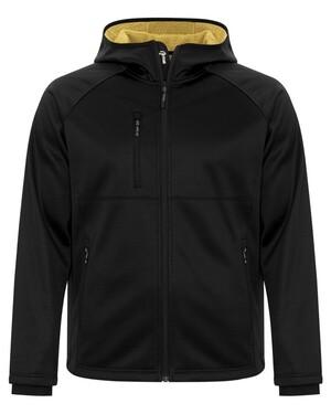 Bonded tech Fleece Full Zip Hooded Jacket