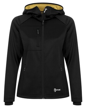 Bonded Tech Fleece Full Zip Hooded Ladies' Jacket