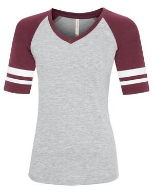ATC Eurospun Ring Spun Baseball Ladies' T-shirt
