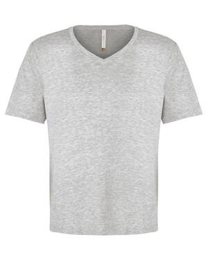 ATC EuroSpun® Ring Spun V-neck T-shirt