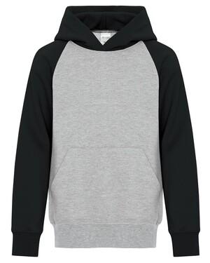 Everyday Fleece Two Tone Hooded Youth Sweatshirt